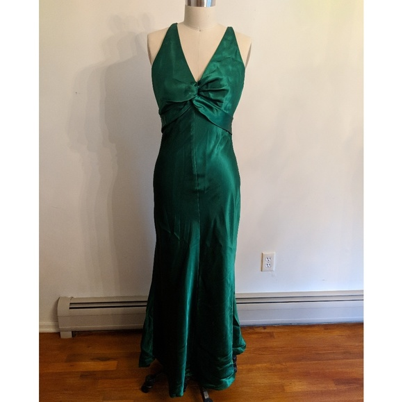 Bari Jay Dresses   Emerald Green Bridesmaids Dress   Poshmark
